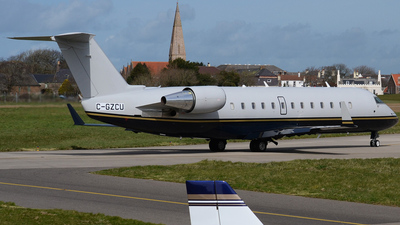 C-GZCU - Bombardier CL-600-2B19 Challenger 800 - Private