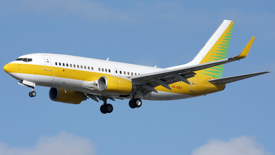 VQ-BBS - Boeing 737-7AK(BBJ) - Gama Aviation