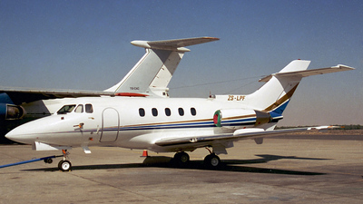 ZS-LPF - Hawker Siddeley HS-125-400A - Private