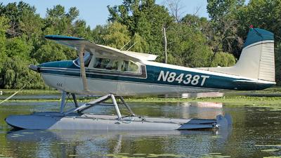 A picture of N8438T - Cessna 182B Skylane - [52338] - © Steve Homewood