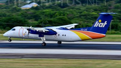 A picture of V2LGG - De Havilland Canada Dash 8300 - [404] - © Oliver P.