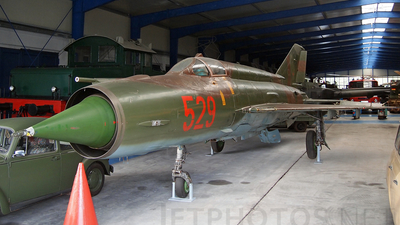 529 - Mikoyan-Gurevich MiG-21F-13 Fishbed C - Germany - Air Force