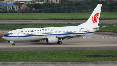 B-5436 - Boeing 737-86N - Air China