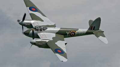 ZK-MOS - De Havilland Mosquito FB.26 - Private