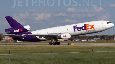 N367FE - McDonnell Douglas MD-10-10(F) - FedEx