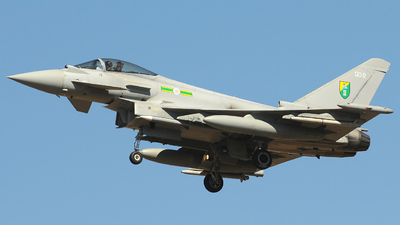 ZJ925 - Eurofighter Typhoon F.2 - United Kingdom - Royal Air Force (RAF)