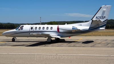 N28SP - Cessna 550B Citation Bravo - Private