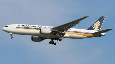 9V-SRB - Boeing 777-212(ER) - Singapore Airlines