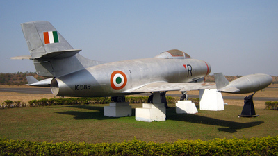 IC585 - Dassault MD.450 Ouragan - India - Air Force