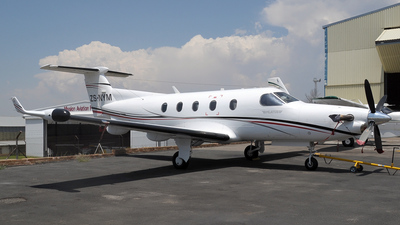 ZS-NYM - Pilatus PC-12/45 - Private
