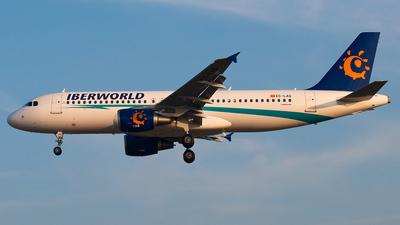 EC-LAQ - Airbus A320-214 - Iberworld Airlines