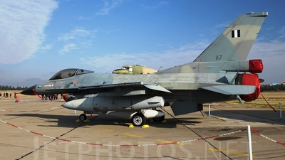 117 - General Dynamics F-16C Fighting Falcon - Greece - Air Force