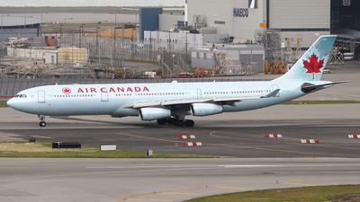 C-FYLU - Airbus A340-313X - Air Canada