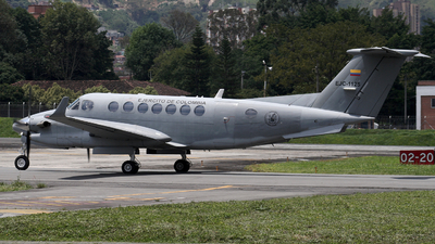 EJC-1125 - Beechcraft B300 King Air 350 - Colombia - Army