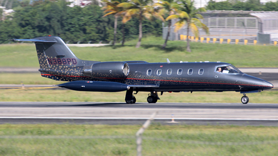 N388PD - Gates Learjet 35A - Private