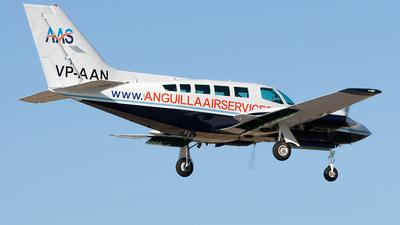 VP-AAN - Cessna 402C - Anguilla Air Services