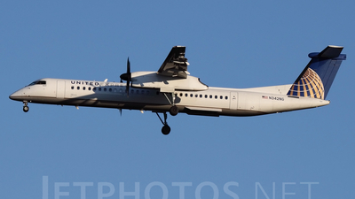 N342NG - Bombardier Dash 8-Q402 - United Express (Colgan Air)