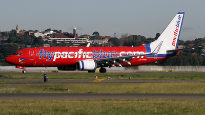 ZK-PBM - Boeing 737-8FE - Pacific Blue Airlines