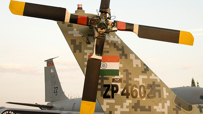 ZP4602 - Hindustan Aeronautics Light Combat Helicopter - India - Air Force