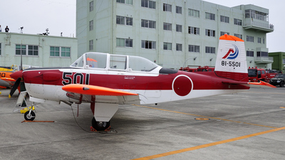 81-5501 - Fuji T-3 - Japan - Air Self Defence Force (JASDF)