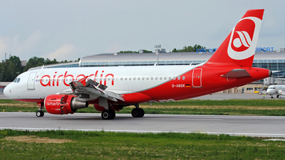 D-ABGK - Airbus A319-112 - Air Berlin