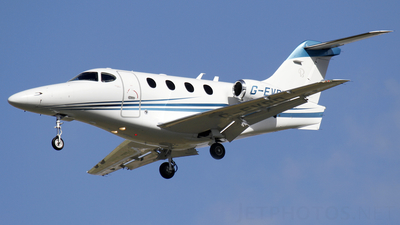 G-EVRD - Hawker Beechcraft 390 Premier I - Commercial Aviation Charters