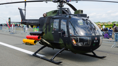 86-66 - MBB Bo105P1 - Germany - Army