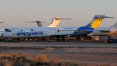 N952MA - McDonnell Douglas MD-87 - Allegiant Air