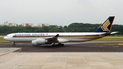 9V-SGE - Airbus A340-541 - Singapore Airlines