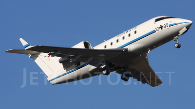 12-05 - Bombardier CL-600-2A12 Challenger 601 - Germany - Air Force