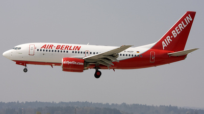 D-AGEP - Boeing 737-75B - Air Berlin (Germania)