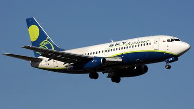 CC-CTB - Boeing 737-2Q3(Adv) - Sky Airline