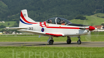 063 - Pilatus PC-9M - Croatia - Air Force