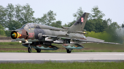 3817 - Sukhoi Su-22M4 Fitter K - Poland - Air Force