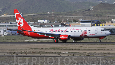 D-ABMJ - Boeing 737-86J - Air Berlin
