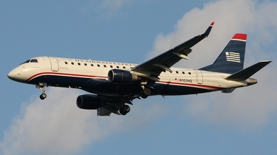 N103HQ - Embraer 170-200LR - US Airways Express (Republic Airlines)