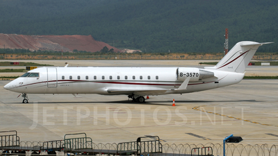 B-3570 - Bombardier CL-600-2B19 Challenger 850 - Business Aviation Asia