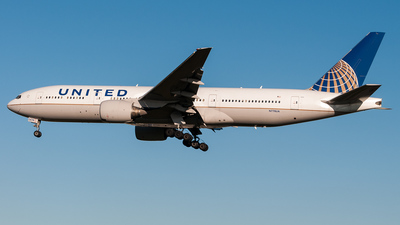 N778UA - Boeing 777-222 - United Airlines
