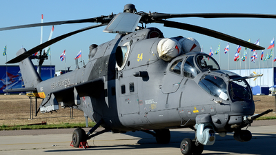 54 - Mil Mi-35M-3 Hind - Russia - Air Force