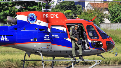 PR-EPE - Aérospatiale AS 350B2 Ecureuil - Brazil - Military Police of Pernambuco State