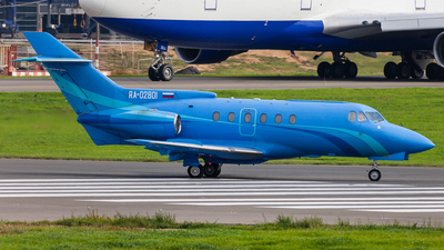 RA-02801 - Hawker Siddeley HS-125-700B - Meridian Air