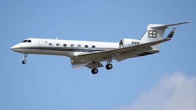 N1EB - Gulfstream G550 - Private