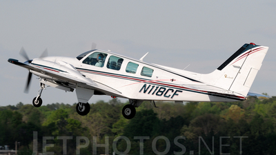 A picture of N118CF - Beech 58 Baron - [TH924] - © Agustin Anaya