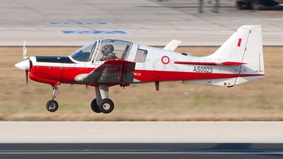 AS0023 - Scottish Aviation Bulldog T.1 - Malta - Armed Forces