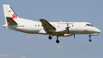 OK-CCD - Saab 340B - CSA Czech Airlines (Central Connect Airlines)