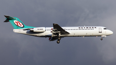 VH-NHO - Fokker 100 - Network Aviation