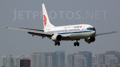 B-2643 - Boeing 737-89L - Air China