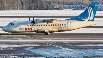 OH-ATB - ATR 42-500 - Finncomm Airlines