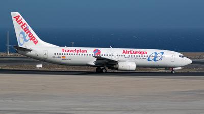 EC-HBN - Boeing 737-85P - Air Europa