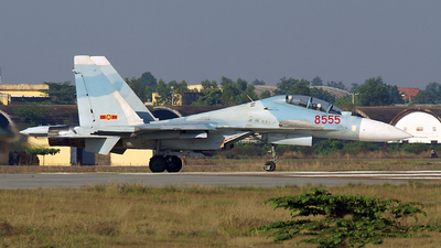 8555 - Sukhoi Su-30MK2 - Vietnam - Air Force